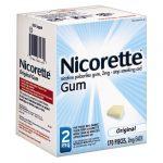 kẹo cai thuốc lá nicorette không vị