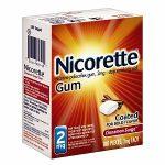 Nicorette cinnamon surger