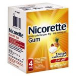 nicorette 4mg fruit chill 160pc