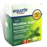 Equate-nicotine-gum-4mg-mint