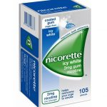 Nicorette icy mint 105 pieces