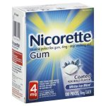 Nicorette white ice mint 4mg