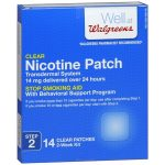 Clear Nicotine Patch